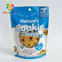 China Reusable Stand Up Bags Customized Printing Tear Notches For Cookie wholesale