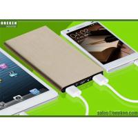 China Ultrathin Portable Fast Charging Power Bank 6000mah With Lithium - Ion Polymer Battery wholesale