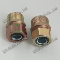 China Conduit to pipe waterproof stainless steel coupling on sale