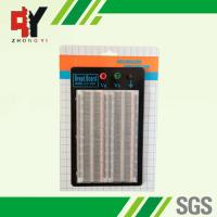 China 1660 Points Electronic Solderless Breadboard Transparent Prototyping Board wholesale