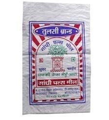 China HDPE BOPP Laminated PP Woven Sacks Bag 40 / 50 kg For Animal Materials / Seed , Salt , Flour wholesale