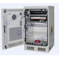China Thermostatic Wall / Pole Mount Outdoor Telecom Cabinet / Equipemnt Battery Cabinet With Heat Exchanger Cooling wholesale