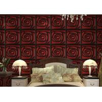 China Home Wall European Style Wallpaper Contemporary Mural Leather 3D Wall Panel for Hotel / Office wholesale