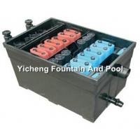 China UV Lamp Filtration System , Construction Biological Fish Pond Filters on sale