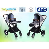 China Senior Four Wheel Damping Baby Girl Strollers With Adjustable Handle wholesale