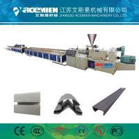 China PVC Wood Plastic Composite Production Line Automatically High Speed 380 V wholesale
