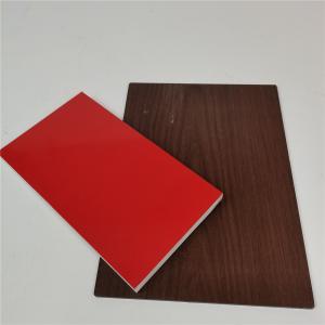 China Anti - Corrosion Wood Grain Aluminum Composite Panel wholesale