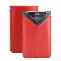 China Leather Case for Samsung Galaxy S3/Smartphones, 100pcs MOQ, Various Colors are Available wholesale