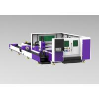 China Tube / Pipe Cnc Laser Cutting Equipment IPG Source High Position Acccuracy on sale