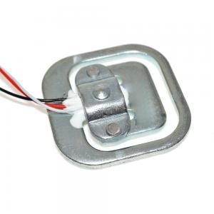 China Metal 34mmX34mm Size 50KG Body Load Cell Sensor Weighing Sensor Resistance strain Half - bridge on sale