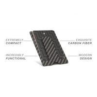 China One Handed High Toughness 10g Real Carbon Fiber Wallet on sale