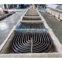 China TP304L / 1.4306 Heat Exchanger Tube  With U Bend 25.4mm For Chemical Equipment on sale