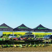 China Outdoor Customized Tents For Events Full Color Printing Aterproof Sunproof wholesale