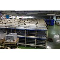 China Custom Structural Steel Storage Pipe Rack For Electronic Equipment , FIFO Flow Type on sale