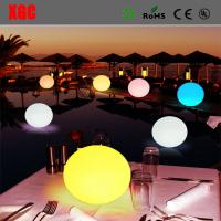 China Waterproof LED Light Ball For Party, Hotel Decoration/Battery Waterproof  Plastic LED Glowing Decoration Light Up Balls wholesale
