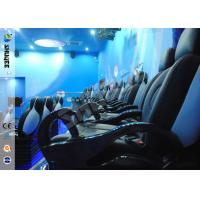China Up / Down Movement 5d Movie Theatre Simulator With Glass Fiber Chair 1900 X 850 X 1400 wholesale