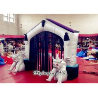 Halloween Decorative Inflatable Arch/ Door with Two Demons for Sale