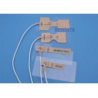 Quality Adult / Pediatric Disposable Spo2 Sensor 3M Non Woven Material White Cable Color for sale