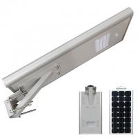 China 60 W Integrated All In One Solar Led Street Light With Lifepo4 Lithium Battery on sale