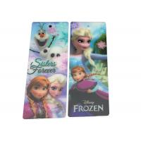 China Durable 0.6mm Soft PVC 3D Lenticular Bookmarks For Christmas Gifts wholesale