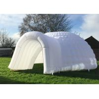 China Simple Inflatable Igloo Tent , White Inflatable Dome Tent CE / UL Certificate wholesale