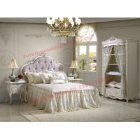 China Exquisite Design and Workmanship for Lovely Girls Bedroom Furniture set in White Color wholesale