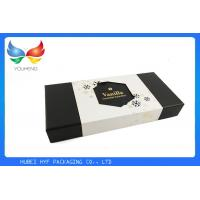 Buy cheap Rectangle Disposable 2 Piece Gift Boxes With Lids , Custom Inner Padding from wholesalers