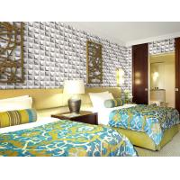 China Colorful Graffiti Fiber 3D Wall Coverings Interior Wall Paneling 3D Tiles for KTV , Club , Hotel wholesale