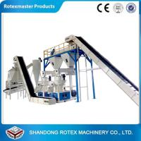 China Small Capacity Biomass Fire wood Pellet Production Line For Making Fuel Pellet wholesale