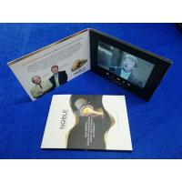 China Custom design  lcd screen marketing video brochure card 7inch tft screen branded video booklet video book for business wholesale