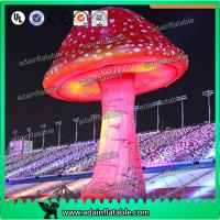 China 3.5mH Ligthting Inflatable Mushroom Props Model Oxford Material For Event Decoration wholesale