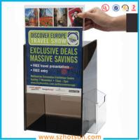 Quality Acrylic Suggestion box, Acrylic Donation & Ballot Box for sale