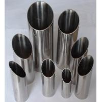 China Gr2 Polished Titanium Exhaust Pipe Corrosion Resistance With ASTM B338 wholesale