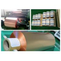China 9um RA Double Shiny Rolled Copper Foil Lithium - Ion Batteries Suitable wholesale