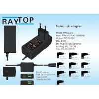 China 19V 3.42A Mini 65w Universal Laptop Power Adapter With Usb QC2.0 QC3.0 Type-C Port wholesale