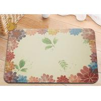 China The Circular And Deodorant Natural Diatomaceous Earth Bath Mat on sale