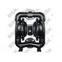 China Air Driven Casting Steel Diaphragm Pump With Shut - Off Valves wholesale