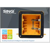 Buy cheap Two gang ul certificate plastic outlet electrical wiring boxes with covers from wholesalers