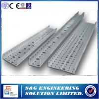 China 42t Punching Cable Tray Roll Forming Machine  0.6-1.2 Mm Thickness wholesale