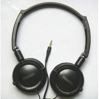 China Stylish Popular Stereo Headphones, Luxury / Fashionable DJ Stereo Headphone For MP3, DVD, VCD Player wholesale