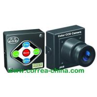 China 540TVL High Resolution Mini CCD Video Camera with OSD function wholesale