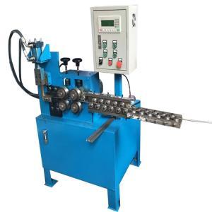 Fully Automatic Wire Straightening And Cutting Machine Hydraulic Feeding PLC Control