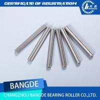 Quality Customized CNC Turning Parts Anodized Aluminum 2MM Stainless Steel Knurled Dowel for sale