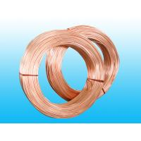 China Copper Coated Steel Evaporator Tube 4.76 * 0.7 mm , Low Carbon Strip wholesale