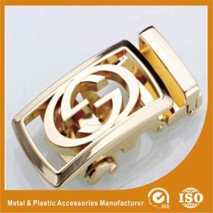 China OEM / ODM 35mm Gold Custom Belt Buckles Western Classic Belt Buckles wholesale