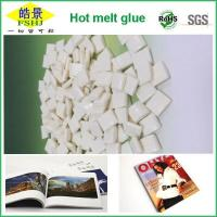 China EVA White Hot Melt Glue Pellets  Small Density And High Flexibility For Book And Magazine Printing wholesale