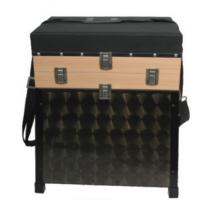 China 2 Story Wood Fishing Seat Boxes with 4 Wood Drawers STBX009 wholesale