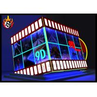 China Digital Controlled XD Theatre with 9D Cinema Cabin and Motion Chair wholesale