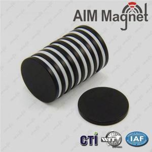 China D5x5mm N35 epoxy coating neodymium magnet for Sensor wholesale