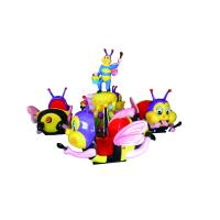 China Diameter 6 M Helicopter Amusement Ride Up And Down Revolving Park Ride 8 Seats on sale